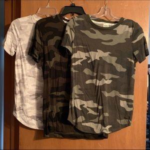 PINK VS Camo Shirts Size xs